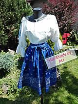 Sukne - Folková sukienka - 8992154_