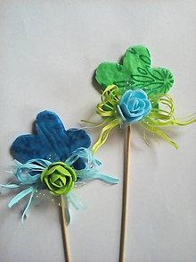 Dekorácie - Zápich kvet - 8992642_