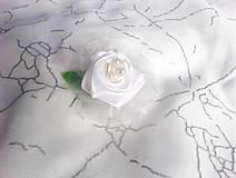 Odznaky/Brošne - Brošňa nežná ruža - 8993717_