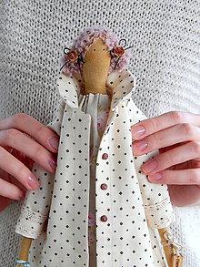 """Hračky - Mäkká bábika TILDA """"Princesa"""" (Mäkká bábika TILDA Angleška princezná18) - 8994942_"""