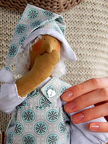 Hračky - Mäkká bábika TILDA
