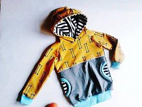 Detské oblečenie - Mikina Šipy (110) - 8993860_