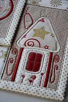 Úžitkový textil - Vianočné prestieranie No.21 :) - 8993663_