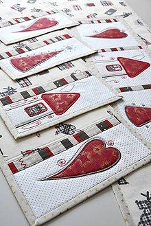 Úžitkový textil - Vianočné prestieranie No.22 :) - 8993719_