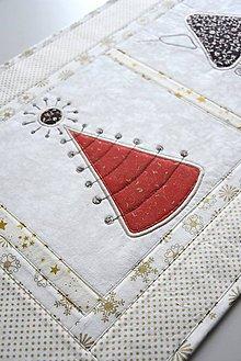 Úžitkový textil - Vanočná štóla - aplikácie - 8995016_