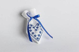 Úžitkový textil - Darčekové vrecúško folk III - 8994813_