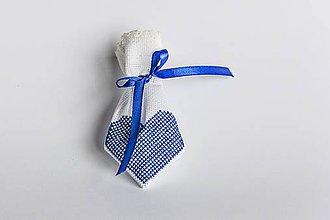 Úžitkový textil - Darčekové vrecúško folk IV - 8994844_