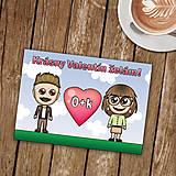 Papiernictvo - Personalizovaná valentínka - 8992436_