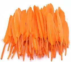 Suroviny - 54. Modré letky, mix 10ks (54.11 Oranžové) - 8997874_