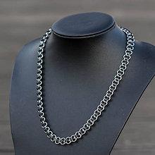 Náhrdelníky - Harmony - náhrdelník (Čierna) - 8998742_