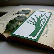 Papiernictvo - Strom tmavozelený... - 8998335_