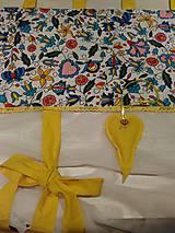 Úžitkový textil - Záclonka folk 190cm x 150cm - 8998363_