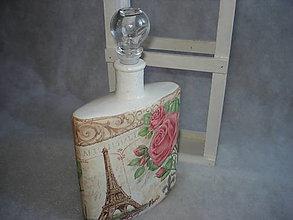 Nádoby - Fľaša - Paríž - 8997886_