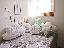 Úžitkový textil - Urban Sky - obláčikový prehoz (Šedá) - 8999088_