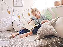 Úžitkový textil - Urban Sky - obláčikový prehoz (Šedá) - 8999090_