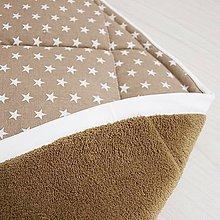 Textil - Hracia deka s vzorom (Hnedá) - 8999025_