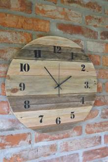 Hodiny - Drevené hodiny Nahé hodiny - 8998497_