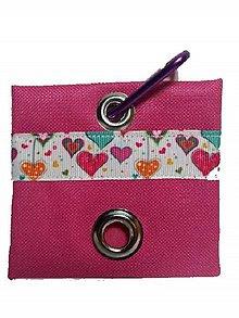 Pre zvieratká - Zásobník na WC vrecká Valentine - 8996876_