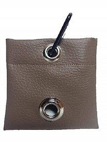 Pre zvieratká - Zásobník na WC vrecká hnedá koženka - 8997001_