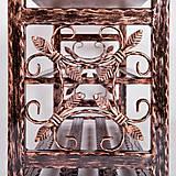 Nábytok - Kovaný botník, Regál na topánky, Kovový botník, Lavica - 8995899_