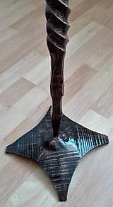 Dekorácie - Kozubová súprava kovaná - 8996019_