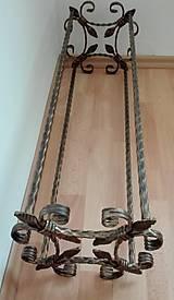 Nábytok - Kovaný botník, Regál na topánky - 8996352_