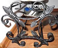 Nábytok - Kovaný botník, Regál na topánky - 8996354_