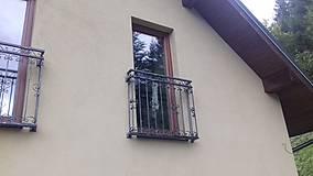 Nábytok - Kované zábradlie na francúzske okná - 8996813_
