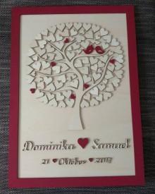 """Dekorácie - Svadobný strom """"Birds of love"""" - kniha hostí - 8995868_"""