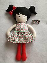 Kabelky - Kabelka s bábikou - jabĺčko - 8997143_