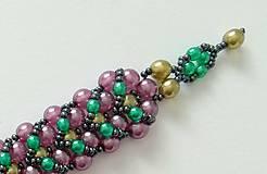 Náramky - Perličkový náramok - 8998285_