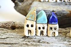 Dekorácie - Domček z dedinky v údolí - 8996621_
