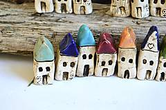Dekorácie - Domček z dedinky v údolí - 8996626_