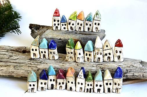 Domček z dedinky v údolí