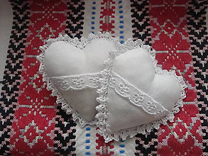 Darčeky pre svadobčanov - Svadobné srdiečka - 8996457_