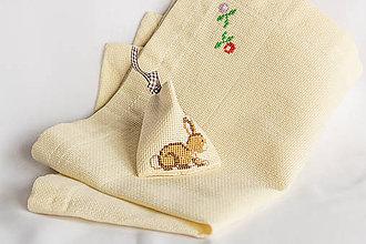 Úžitkový textil - Veľkonočné prestieranie folk vyšívané - 8998547_