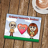 Papiernictvo - Personalizovaná valentínka - 8995991_