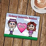 Papiernictvo - Personalizovaná valentínka - 8997875_