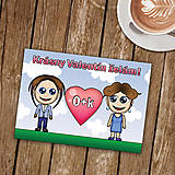 Papiernictvo - Personalizovaná valentínka - 8998175_