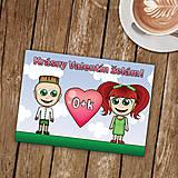 Papiernictvo - Personalizovaná valentínka - 8998628_