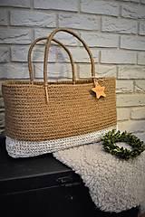 - Veľká jutová taška - 8996274_