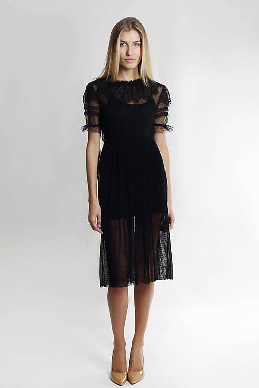 Romantické tylové šaty   ceccilia - SAShE.sk - Handmade Šaty 00f24206088