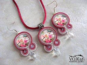 Sady šperkov - Vtáky - soutache - 9002325_