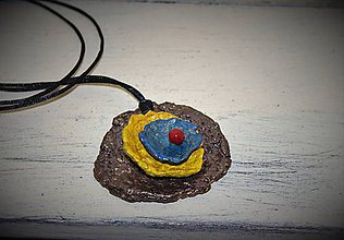 """Náhrdelníky - náhrdelník """"štyroch farieb"""" - 8999823_"""
