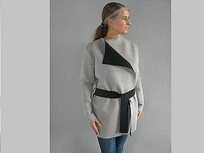 Kabáty - Kabátek - kardigan... - 9002257_