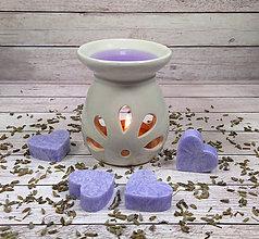 Svietidlá a sviečky - Levanduľový vonný vosk - 9003259_