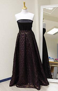 Sukne - Spoločenská MAXI sukňa - 9003044_