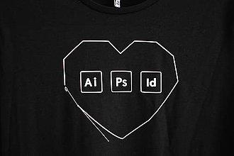 Tričká - Tričko s potlačou Adobe Love - 9000840_