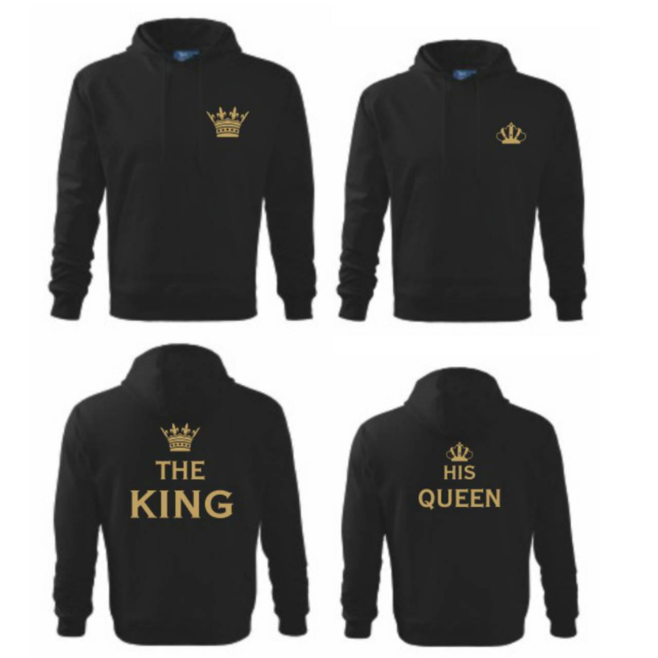 2126aa06c King a Queen - zaľúbené mikiny pre pár / trickoland - SAShE.sk ...