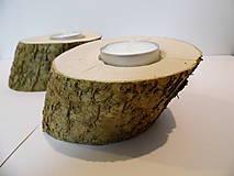 Svietidlá a sviečky - Svietnik drevený - 9000052_